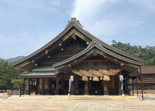 出雲大社 拝殿